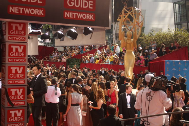 Emmys 2010 outside