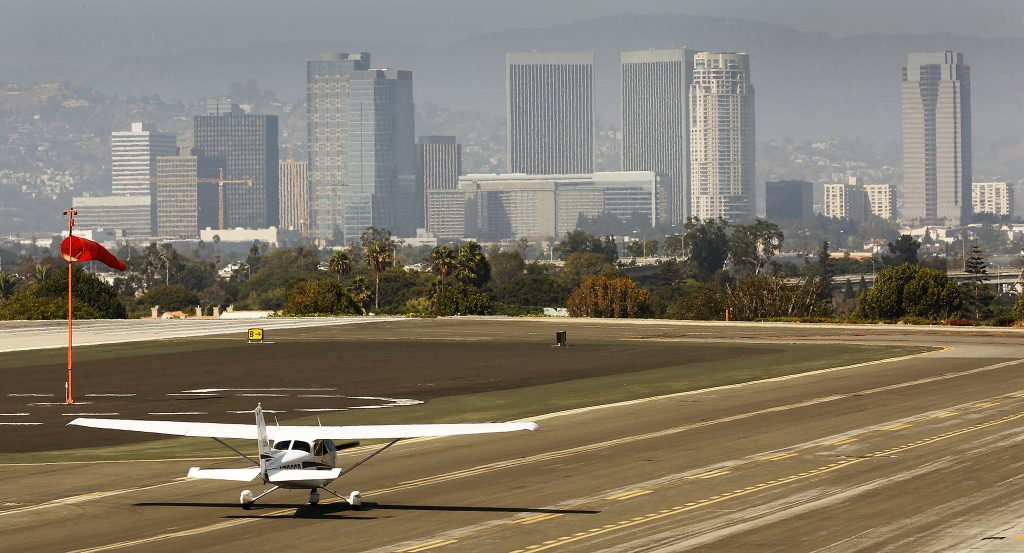 Runway at Santa Monica Airport