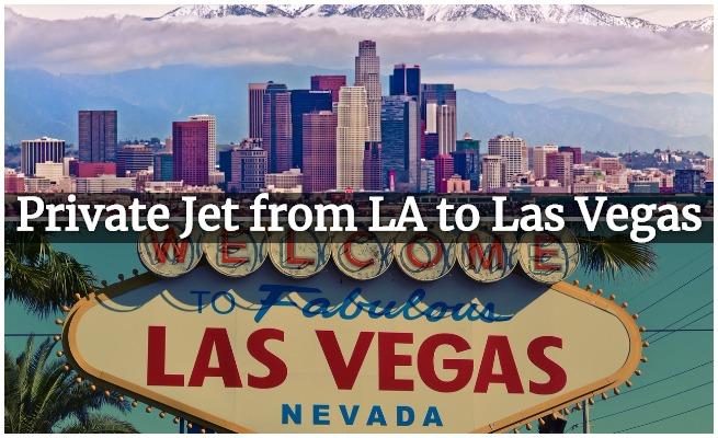 Private Jet LA to Vegas