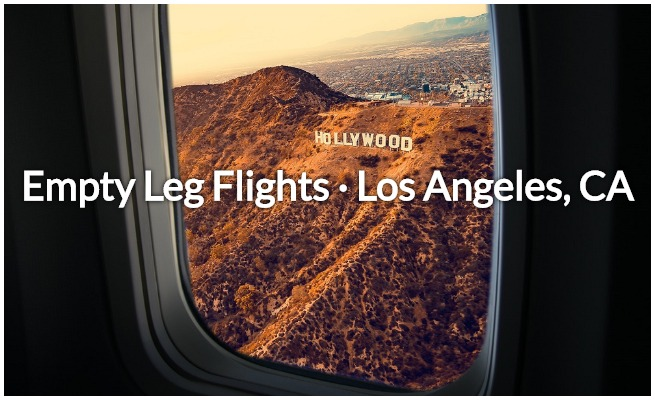 empty leg deals in LA