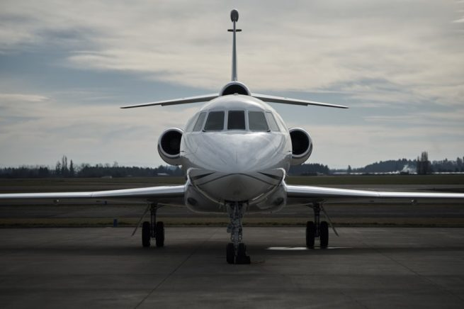 business jet charter services