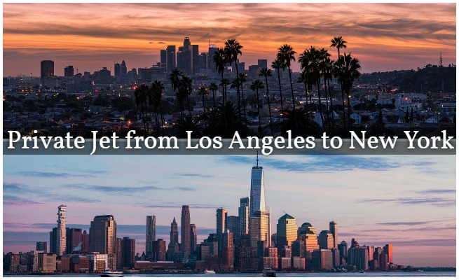 Private Jet LA to NY